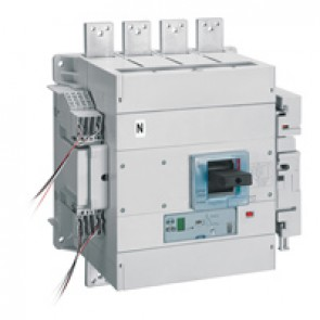 MCCB DPX³ 1600 - Sg elec release +central - 4P - Icu 70 kA (400 V~) - In 1250 A