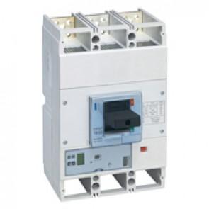 MCCB DPX³ 1600 - Sg elec release +central - 3P - Icu 100 kA (400 V~) - In 800 A
