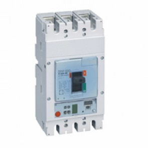MCCB DPX³ 630 - S1 electronic release - 3P - Icu 36 kA (400 V~) - In 250 A