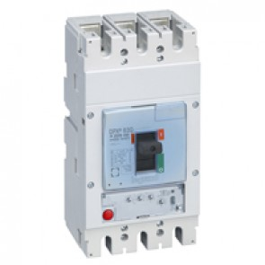 MCCB DPX³ 630 - S1 electronic release - 3P - Icu 36 kA (400 V~) - In 400 A