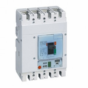 MCCB DPX³ 630 - S1 electronic release - 4P - Icu 36 kA (400 V~) - In 250 A