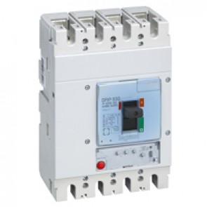 MCCB DPX³ 630 - S1 electronic release - 4P - Icu 36 kA (400 V~) - In 400 A