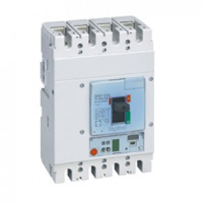 MCCB DPX³ 630 - S1 electronic release - 4P - Icu 36 kA (400 V~) - In 500 A