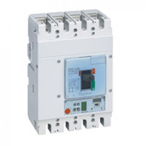 MCCB DPX³ 630 - S1 electronic release - 4P - Icu 36 kA (400 V~) - In 630 A