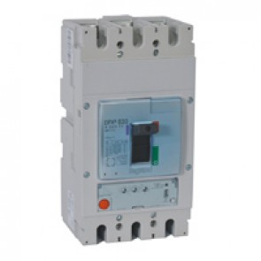 MCCB DPX³ 630 - S1 electronic release - 3P - Icu 50 kA (400 V~) - In 500 A
