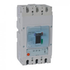 MCCB DPX³ 630 - S1 electronic release - 3P - Icu 50 kA (400 V~) - In 630 A