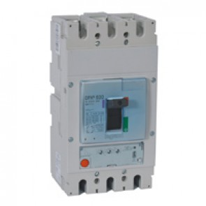 MCCB DPX³ 630 - S1 electronic release - 3P - Icu 70 kA (400 V~) - In 400 A