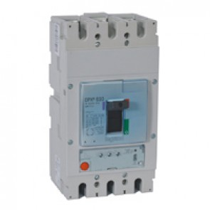 MCCB DPX³ 630 - S1 electronic release - 3P - Icu 70 kA (400 V~) - In 500 A