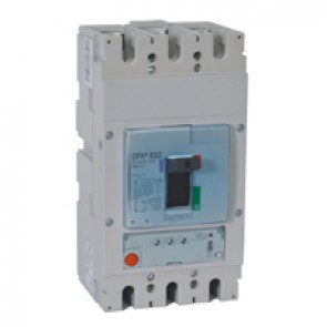 MCCB DPX³ 630 - S1 electronic release - 3P - Icu 70 kA (400 V~) - In 630 A