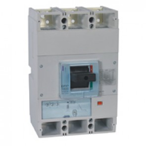 MCCB DPX³ 1600 - S1 electronic release - 3P - Icu 50 kA (400 V~) - In 1250 A