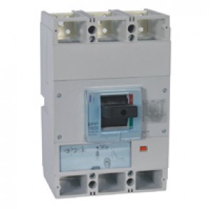 MCCB DPX³ 1600 - S1 electronic release - 3P - Icu 100 kA (400 V~) - In 800 A