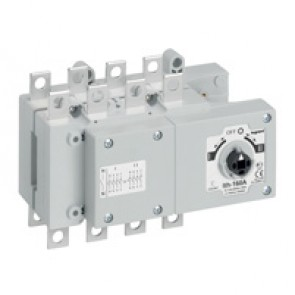 DCX-M changeover switche - size 2 - 3P+N - 160 A - I-O-II