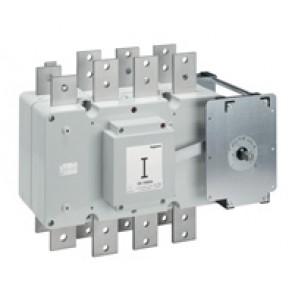 DCX-M changeover switche - size 6 - 3P+N - 1600 A - I-O-II