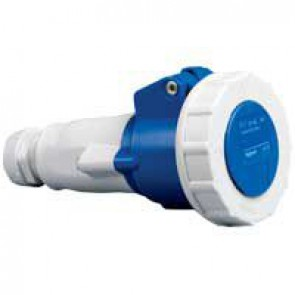 Mobile socket P17 - IP66/67 - 200/250 V~ - 16 A - 2P+E