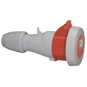 Mobile socket P17 - IP66/67 - 380/415 V~ - 16 A - 3P+E