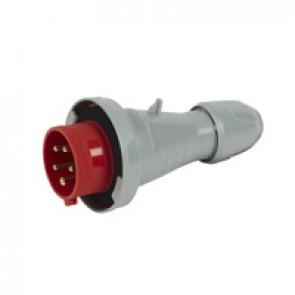Straight plug P17 - IP66/67 - 380/415 V~ - 16 A - 3P+N+E