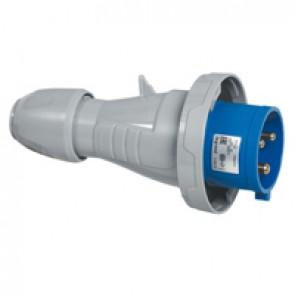 Straight plug P17 - IP66/67 - 200/250 V~ - 32 A - 2P+E