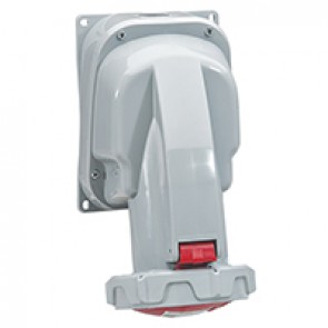 Surface mounting socket P17 Pro - IP66/67 - 380/415 V~ - 63 A - 3P+N+E