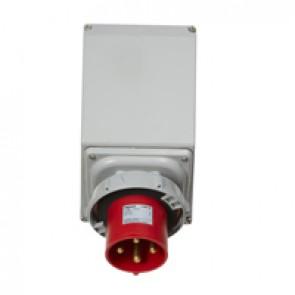 Appliance inlet P17 Pro - IP66/67 - 380/415 V~ - 63 A - 3P+E