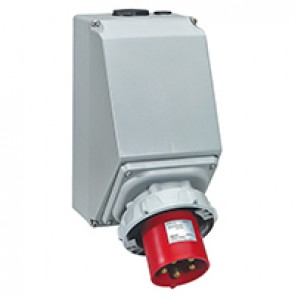 Appliance inlet P17 Pro - IP66/67 - 380/415 V~ - 63 A - 3P+N+E