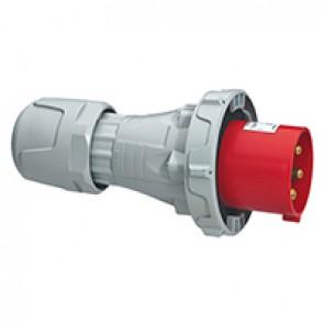 Straight plug P17 Pro - IP66/67 - 380/415 V~ - 125 A - 3P+N+E