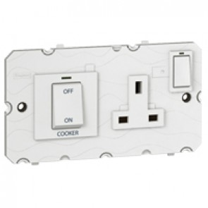 Cooker control unit Arteor 250 V~ - white