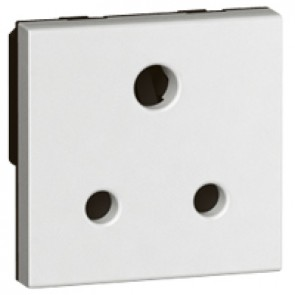 Socket Arteor - BS 546 - 5 A - 2P+E - 2 modules - white
