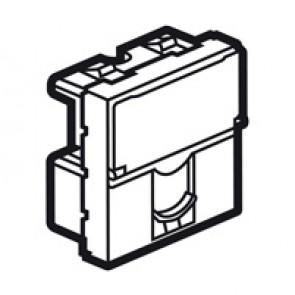 Telephone socket Arteor - for British Telecom - single master - 2 modules - white