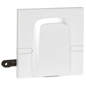 Cable outlet Arteor - 45 A - BS 1-gang - 2 modules - white
