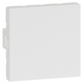 Blank modules Arteor - square - 2 modules - white