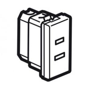 Socket Arteor - US - 15 A / 127 V - 2P - 1 module - magnesium