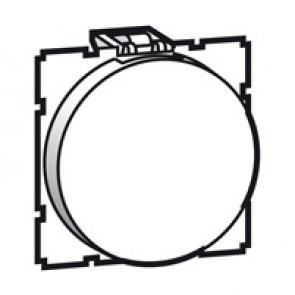 Blank modules Arteor - round - 2 modules - white