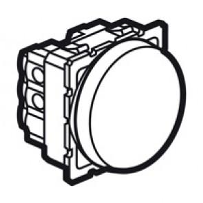 Intermediate switch Arteor - 10 AX 250 V~ - round - 2 modules - magnesium