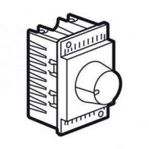 Rotary dimmer Arteor - leading edge - 1000 W - 2 modules - white