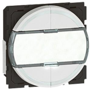 Scenario controller BUS/SCS Arteor - round key cover - white - 2 modules