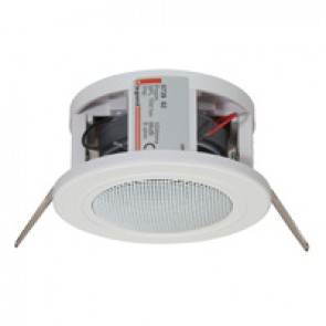 BUS loudspeaker - false ceiling mounting - 8 ohms - 20 W- Ø100 mm