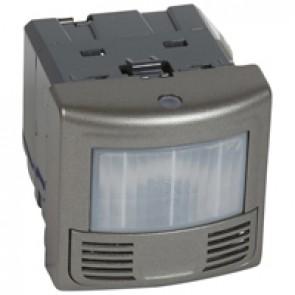 180° switch sensor Arteor - Dual-tech - 15 m² - vacancy sensor - IP41 - magnesium