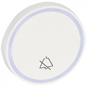 Round key cover Arteor - with symbol DO NOT DISTURB - white - 2 modules