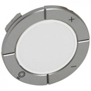 Round key cover Arteor Radio/ZigBee - for dimmer - white