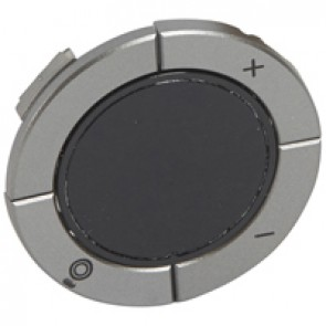 Round key cover Arteor Radio/ZigBee - for dimmer - magnesium