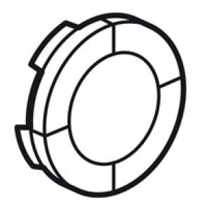 Round false key cover Arteor Radio/ZigBee - white