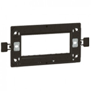 Support frame Arteor - for BS type boxes - 2-gang - 3 modules