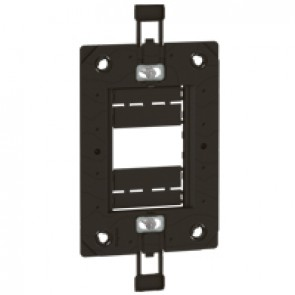 Support frame Arteor - for italian/US type boxes - 2'' x 4'' - 1,2 or 3 modules