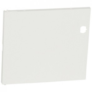 Door - for Nedbox 6012 40 - white plastic - polycarbonate