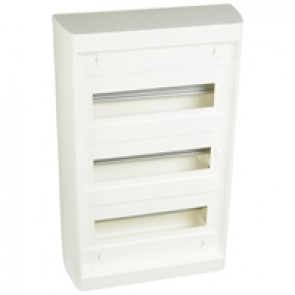 Distribution cabinet Nedbox - 3x12+3 modules - surface mounting - fast locking