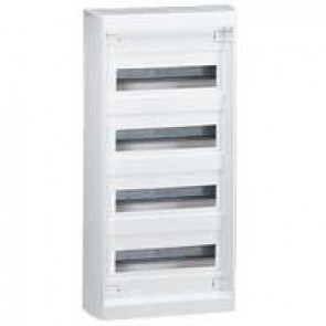 Distribution cabinet Nedbox - 4x12+4 modules - surface mounting - fast locking