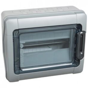 Cabinets PLEXO³ - IP65 - IK09 - 1 row - 12 modules
