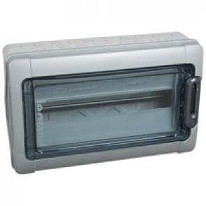 Cabinets PLEXO³ - IP65 - IK09 - 1 row - 18 modules