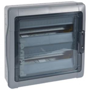 Cabinets PLEXO³ - IP65 - IK09 - 2 rows - 18 modules