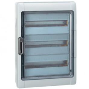 Cabinets PLEXO³ - IP65 - IK09 - 3 rows - 18 modules